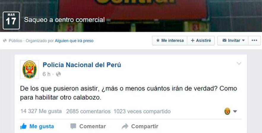policia nacional del Peru