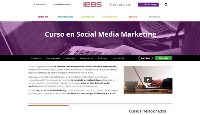 Curso de Social Media y Community Management