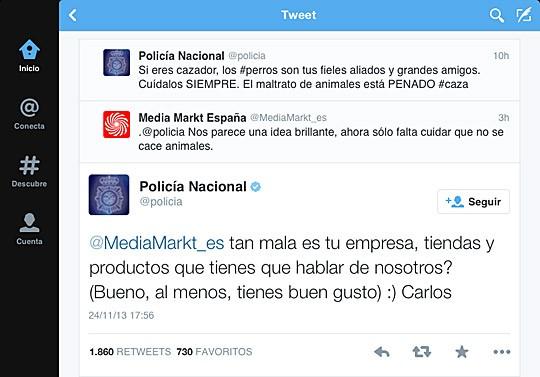 Policia vs Media Mark