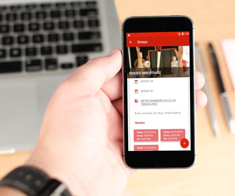 Aplicativo móvil para Android - Afovic - Ensayos