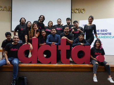 equipo de marketing digital de Data Trust