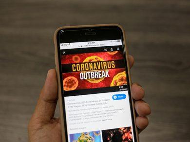 internet y el coronovirus